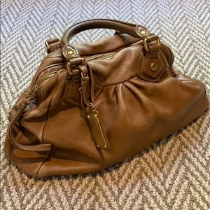 Marc by Marc Jacobs brown leather satchel